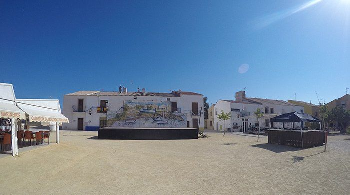 Plaza Mayor de la isla de Tabarca