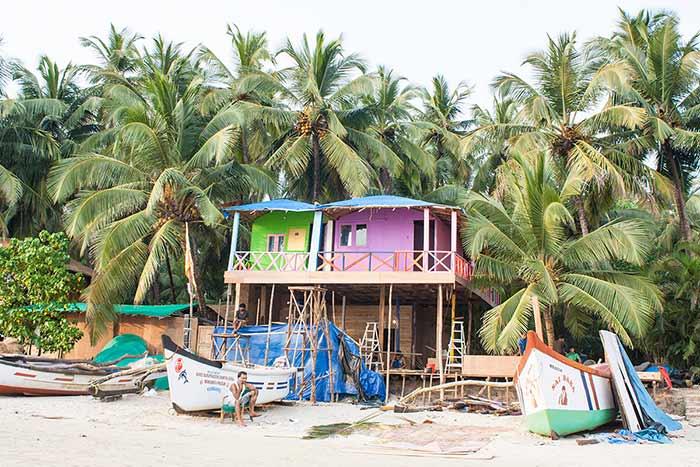 Playas de Palolem, Goa