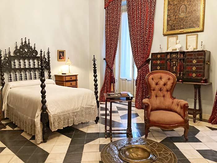 Dormitorio del marqués de Cerralbo