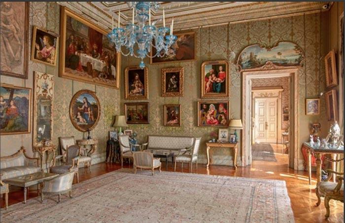 Salón Italiano del Palacio de Liria, Madrid