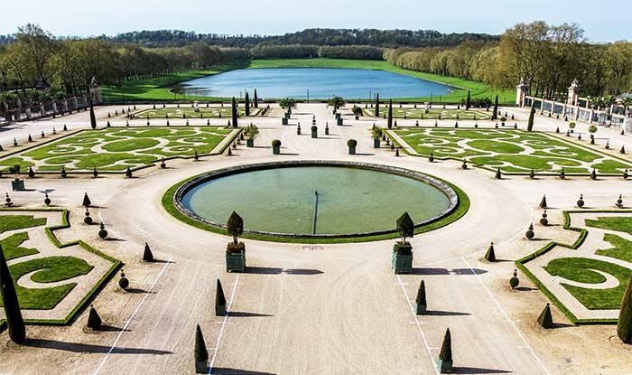 Zonas verdes y ajardinadas del Palacio de Versalles
