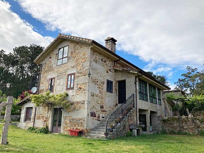 Casa Rural en la que me alojé cerca de O Porriño para comenzar el Camino Portugués a Santiago