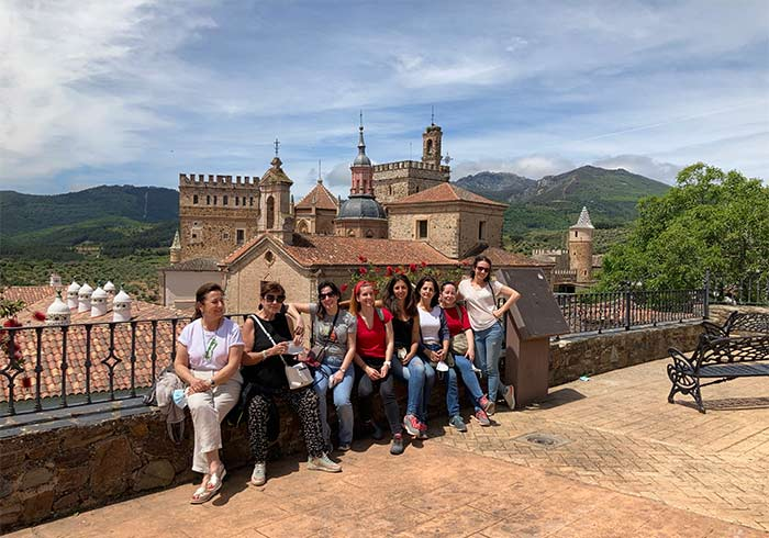Visita guiada por Guadalupe, Cáceres