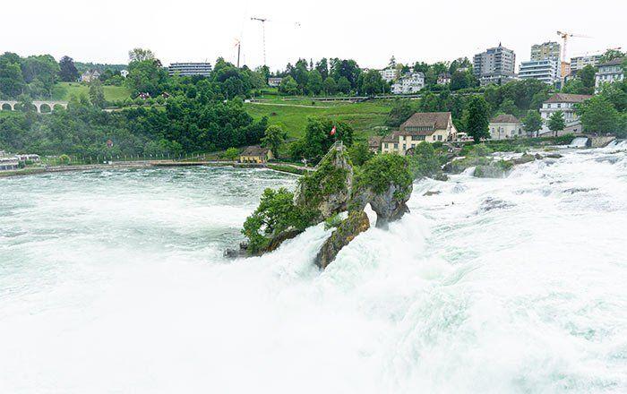 Cataratas del río Rin, excursión que hacer desde Winterthur