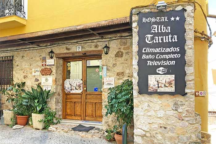 Hotel Alba Taruta en Guadalupe, Cáceres