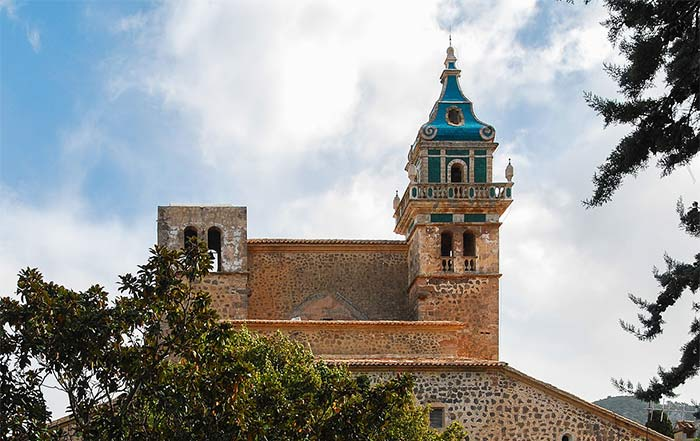 Iglesia en la Real Cartuja, Valldemossa, Mallorca