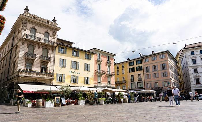 Piazza della Riforma, Lugano