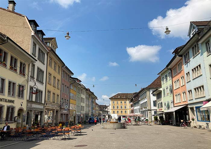 Calles del casco antiguo de la ciudad