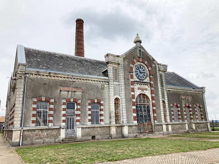 Antigua fábrica en St. Nazaire