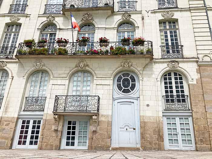 Barrio Feydeau en Nantes