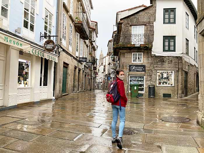 Calles de Santiago de Compostela