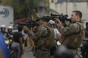 Trece muertos en un operativo policial en favelas de Río de Janeiro