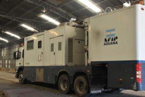 El Puerto de Santa Fe presentó un scanner de contenedores