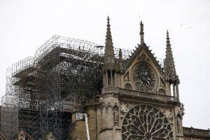 Así quedó Notre Dame tras extinguirse el incendio