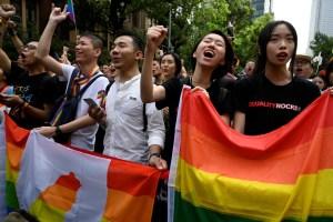Taiwán es el primer país de Asia en legalizar el matrimonio homosexual