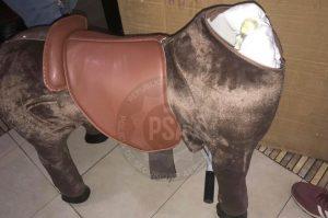 Secuestraron droga que estaba oculta en un caballo de juguete