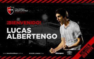 Lucas Albertengo srá refuerzo de Newell's
