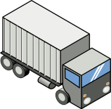 Shipping truck