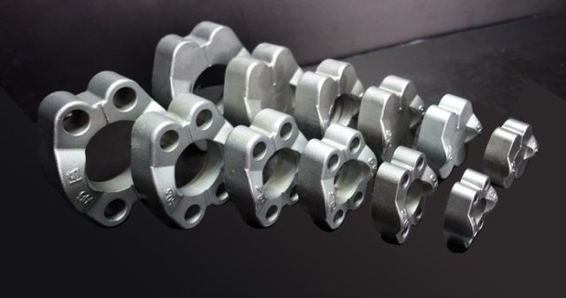 SAE flange clamps, hydrauic sae flange clamps