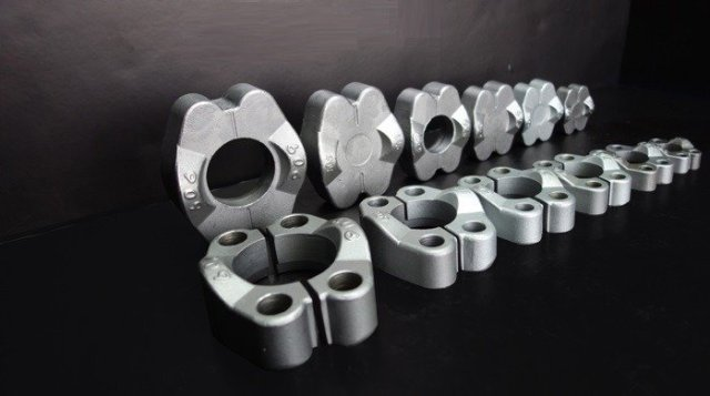 SAE split flange halves, split flange halves