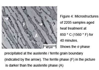 Microstructures of 2205