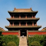 The Phoenix Tower in the Shenyang Palace Museum