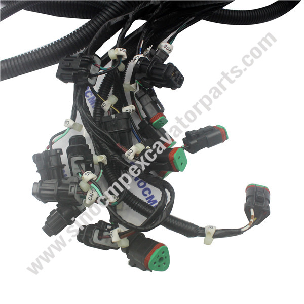 pc210-7 pc200-7 komatsu outer wiring harness 20y-06-31612