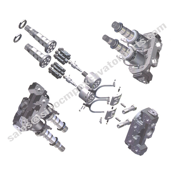 HPV 102 Spare Parts Fit Hitachi Main Hydraulic Pump Excavator
