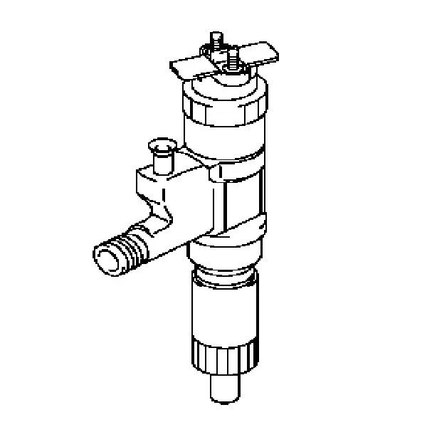 095000-6376 Denso 6HK1 Common Rail Diesel Fuel Injector