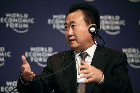 Wang Jianlin auf dem World Economic Forum in 2009 – Photo courtesy of World Economic Forum / Wikimedia Commons