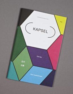Buntes Titelblatt des Kapsel-Magazins