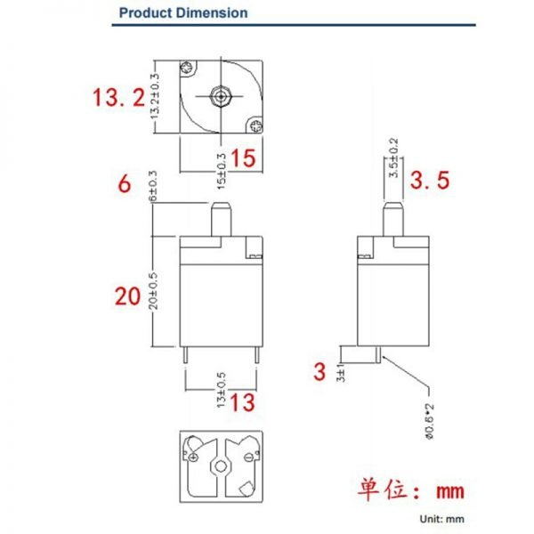 N/O Normally Open Blood Pressure Monitor Exhaust Air valve