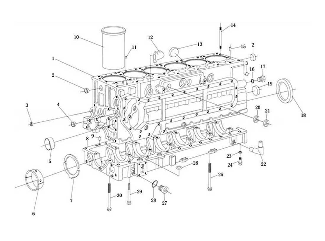 Cylinder Body One