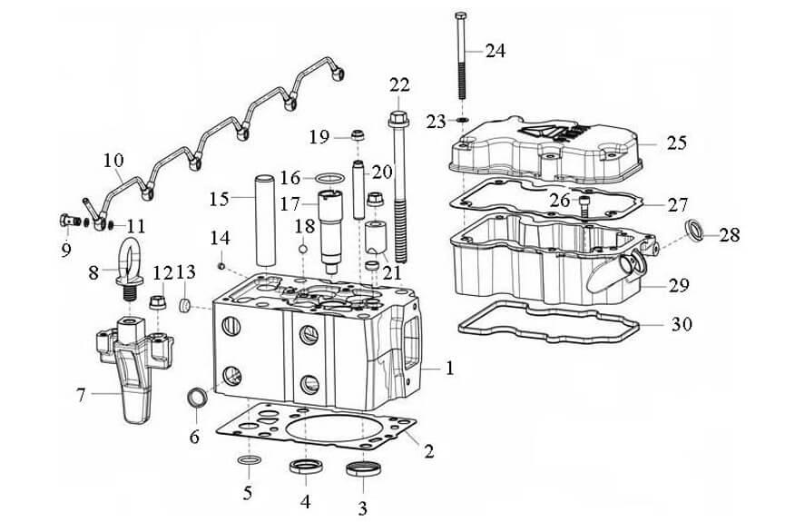 D12 Engine Catalogue-Parts Catalogues-SINOTRUK-China