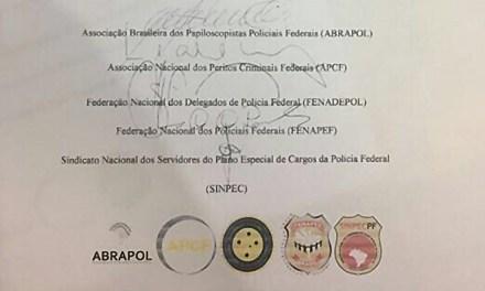 Nota Conjunta das Entidades Representativas da Polícia Federal