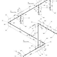 Isometric Piping Diagram 2008 F350 Trailer Plug Wiring Progettazione Impianti Meccanici Servizi Ingegneria Nicotra