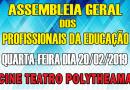 Assembleia Geral dos Profissionais da Educação