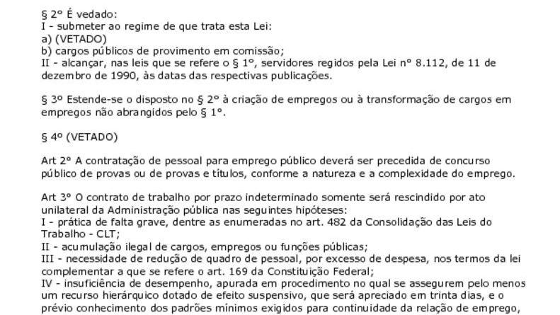 thumbnail of Lei 9962 Regime Adm Federal Autarquica e Fund