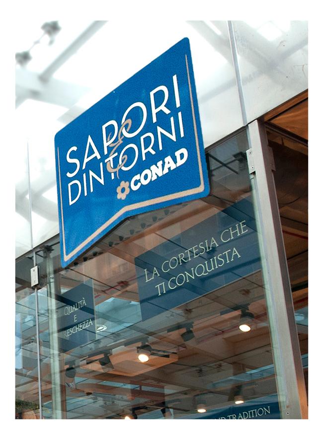 Sapori e dintorni Conad Sintesi/hub agenzia marketing Trieste