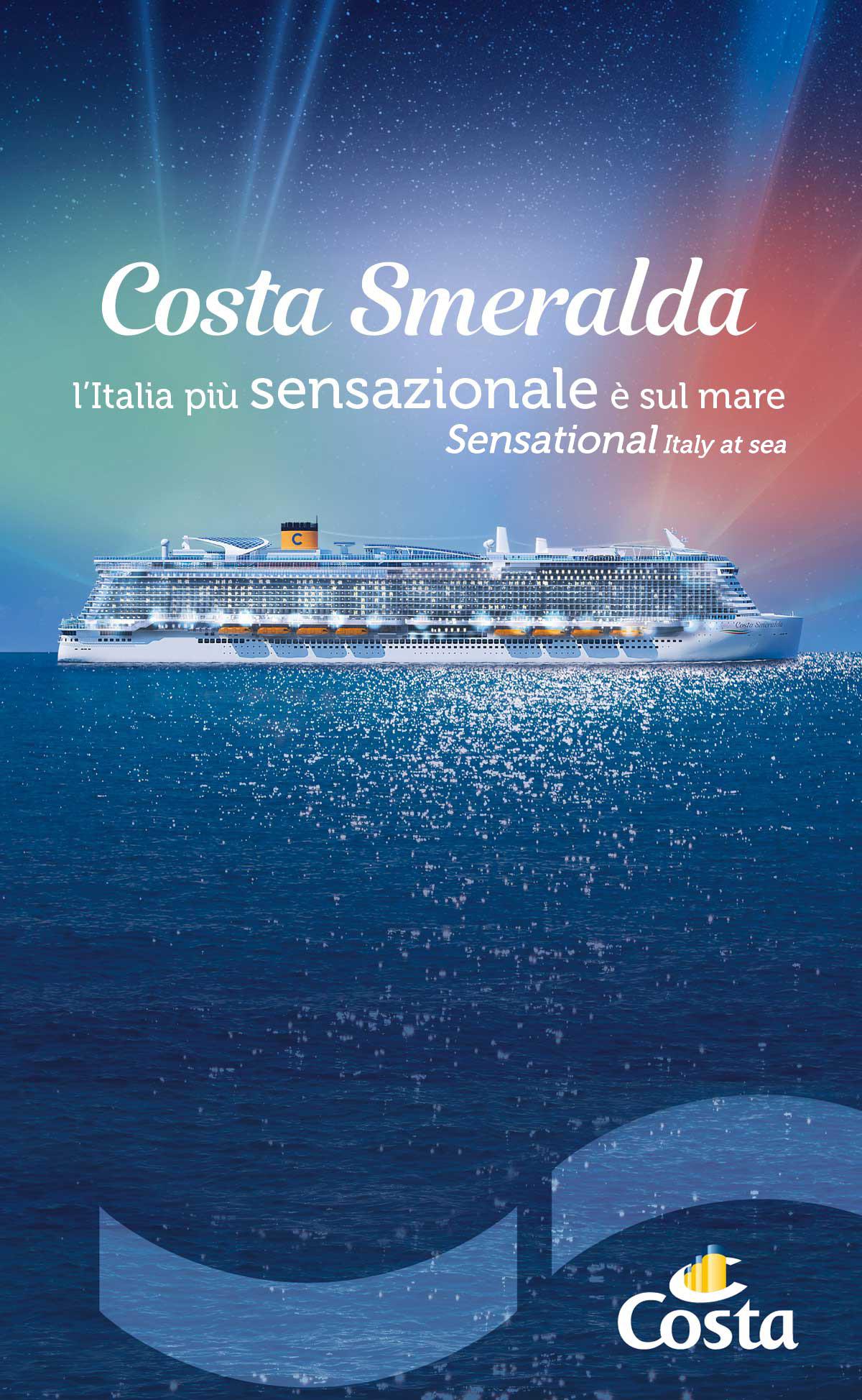 Flyer Costa Smeralda Sintesi/HUB agenzia pubblicità Trieste