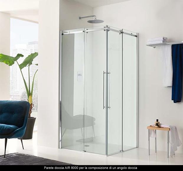 I box doccia AIR e SIM da Inda estetica funzionalit e innovazione per i box doccia