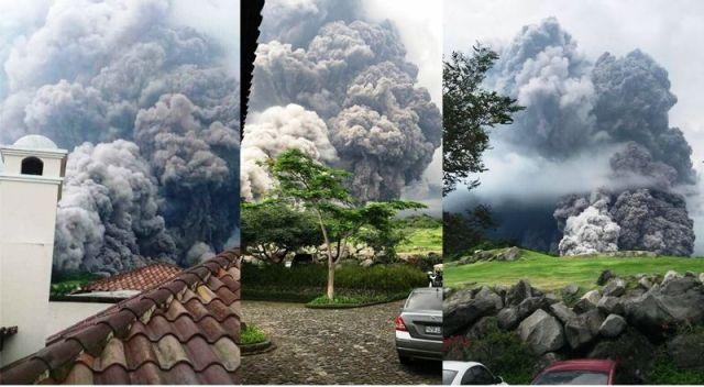 Tragedia en Guatemala por erupción de Volcán