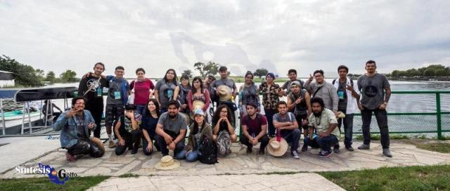 Conviven artistas del proyecto Ciudad M