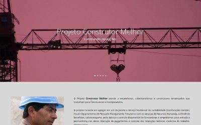 Projeto Construtor Melhor lança novo site