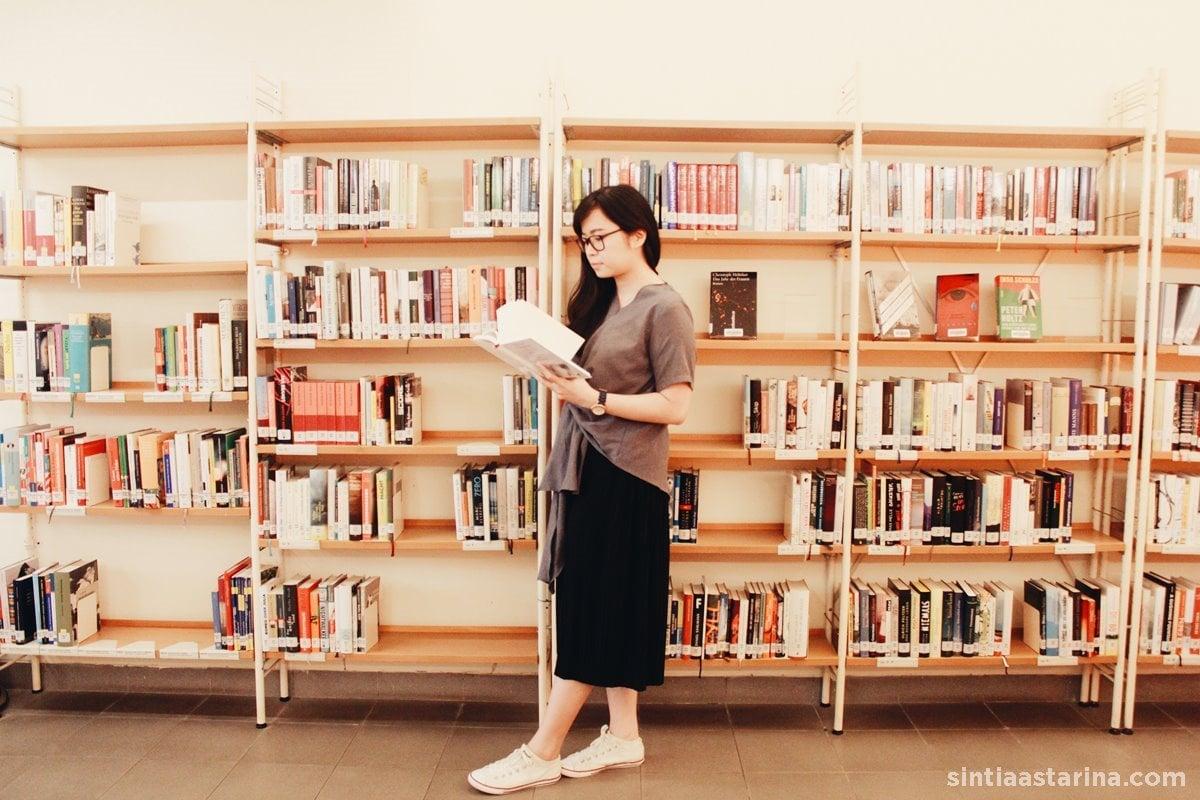 Perpustakan Goethe-Institut Jakarta: Tempat Asyik Belajar Budaya Jerman