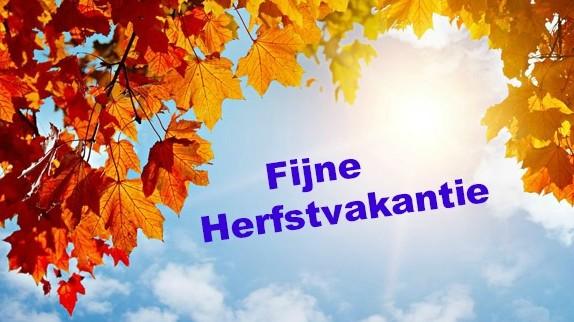 Fijne herfstvakantie!! – Sint-Ludgardis Schoten