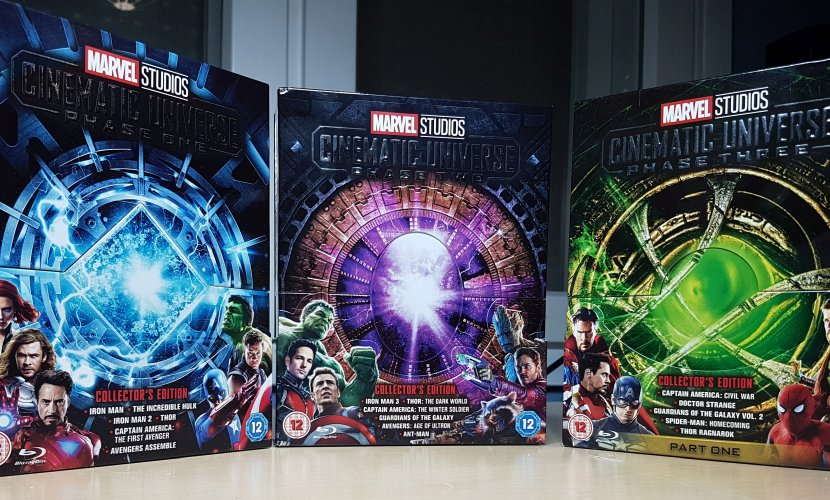 Marvel Cinematic Universe Collector's Edition Phases 1-3