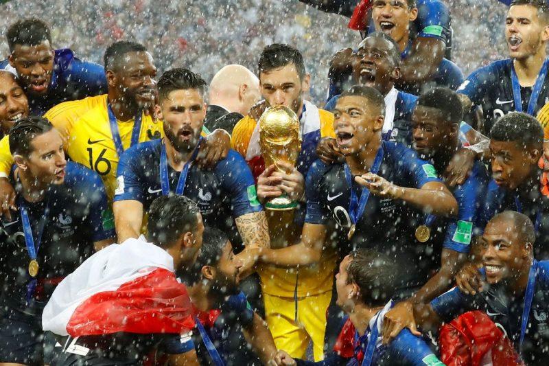 Parabéns França pelo título Mundial de 2018.