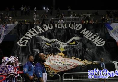 Estrela do 3° Milênio anuncia Daniel Vitro e Edilaine Campos como primeiro casal de Mestre Sala e Porta Bandeira