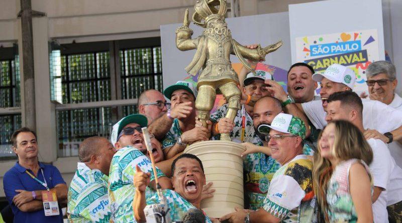 Mancha Verde é a grande Campeã do Carnaval e Vai Vai é rebaixada para o Acesso 1